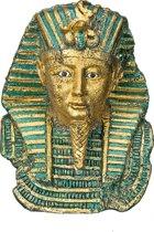 Nobby aqua deco tutankhamun mask 8 x 7 x 10 cm - 1 ST