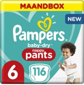 Pampers Baby-Dry Pants - Maat 6 (Extra Large) 15+