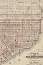 1868 Railroad Map of the City of San Francisco, California