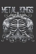 Metal King Notebook Journal: Metal King Notebook Journal gift Journal 6 x 9 120 pages