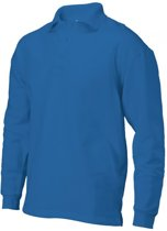 Tricorp polosweater - Casual - 301004 - koningsblauw - maat XL
