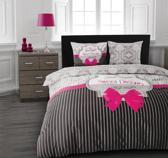 Dreamhouse Flanel Beddengoed Sweet Dreams Pink-240 x 200/220 cm