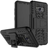 Samsung Galaxy S8 Schokbestendige Back Cover Zwart