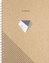 Kraft Notebook A5 - Lijn
