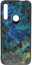 Shop4 - Huawei P Smart Z Hoesje - Harde Back Case Marmer Kleurrijk
