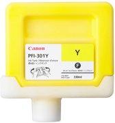 Canon PFI-301Y - Inktcartridge / Pigment Geel