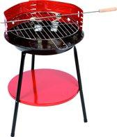 Ronde Houtskoolbarbecue - Ø 36 cm - Rood