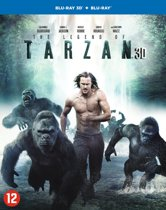 The Legend Of Tarzan (3D Blu-ray)