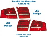 Facelift LED achterlichten - Lights Only - Audi A8 4E
