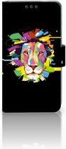 Nokia 3 Uniek Boekhoesje Lion Color