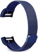 Fitbit Charge 2 Luxe Milanees bandje |Blauw / Blue| Premium kwaliteit | Maat: S/M | RVS |TrendParts