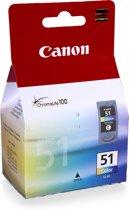 Canon CL-51 - Inktcartridge / Cyaan / Magenta / Geel