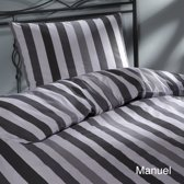 Day Dream Manuel - dekbedovertrek - tweepersoons - 200 x 200/220 cm - Grijs
