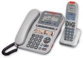 AMPLICOMMS PowerTel 2880 Combo 40 dB versterking vaste - + draadloze telefoon + beantwoorder