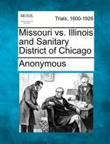 Missouri vs. Illinois and Sanitary District of Chicago