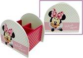Minnie Mouse houten rommelbakje roze