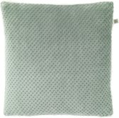 Dutch Decor Sherpa - Sierkussen - 45x45 cm - Jade