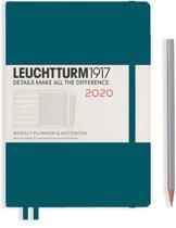 Leuchtturm agenda 2020 7d2p medium harde kaft pacific