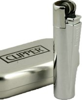 Clipper Vuursteenaansteker Chroom