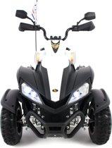Yamaha Raptor look Elektrische kinderquad XL wit