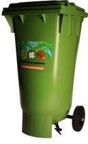 Bokashi Container 120L - verwerkt een grote hoeveelheid tuin- en keukenafval tot bodemverbeteraar