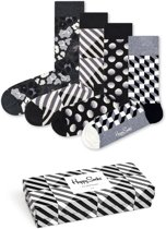 Happy Socks Seasonal Black & White Giftbox - Maat 41-46