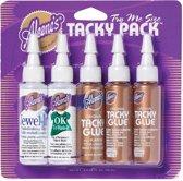 Aleene's - Tacky Glue pack -  5 flesjes