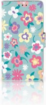 LG Q6 | LG Q6 Plus Boekhoesje Design Flower Power