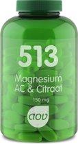 AOV 513 Magnesium AC & Citraat - 180 tabletten - Mineralen