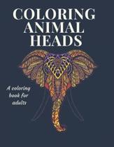 Coloring Animal Heads