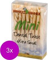 Farm Food Rawhide Dental Twist - Hondensnacks - 3 x Rund 130 g