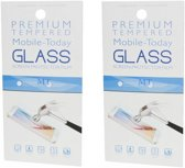 Samsung A40 Screenprotector - Glas - Premium Tempered – 1 plus 1 gratis
