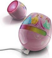 Philips Disney LivingColor Micro - Tafellamp - ø10 cm - Princess - Roze