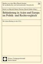 Behinderung in Asien und Europa im Politik- und Rechtsvergleich