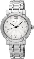 Seiko SXDG79P1 horloge dames - zilver - edelstaal