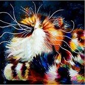 "Diamond Painting ""JobaStores®"" Crazy Cats 07 - volledig - 30x30cm"
