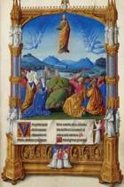 The Ascension by the Limbourg Brothers