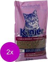 Kanjer Kattenbrok - Kattenvoer - 2 x 10 kg