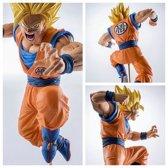 Super Saiyan Goku In Actie – Dragon Ball Z PVC Figuur 19cm