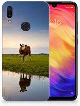 Xiaomi Redmi Note 7 TPU Hoesje Design Koe