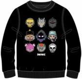 Fortnite sweater - zwart - maat 152 cm / 12 jaar