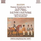 Haydn: Famous Symphonies Vol 1 / Barry Wordsworth