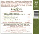 Karlowicz: Symphonic Poems 1