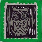 Colorique Chokhi Stamps kussenhoes postzegel uil