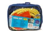 Autopach sleepkabel in tas tot 3000 kilo - touw van 4 meter met 2 stalen ogen