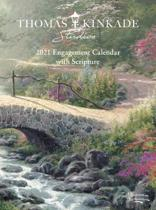 Thomas Kinkade Studios 2021 Engagement Calendar with Scripture