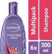 Andrélon Levendige Kleur - 6 x 300 ml - Shampoo