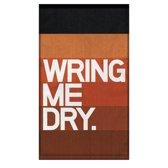 Knock Knock Wring Me Dry. Bar Towel