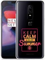 OnePlus 6 Hoesje Summer Time