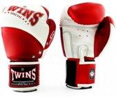 Twins (kick)bokshandschoenen BGVL 10 Rood/Wit 10oz